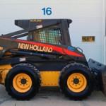 LS190B - New Holland skid loader W/High flow