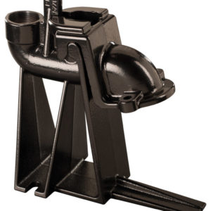 """Guide Rail, 2"""" cast iron with split claw,  fits LE40, LE50-Series"""