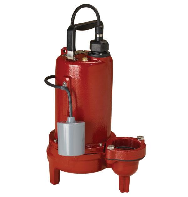 "3/4 HP, Sewage pump, 1 PH, 208-230V, 10' Cord, 2"" Discharge, Manual"