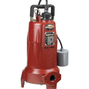 "2 HP, Grinder pump, 3 PH, 208-230V, 25' Cord, 1-1/4"" Discharge, Manual"