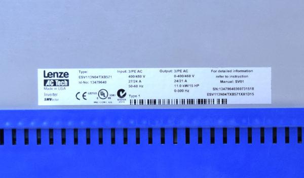 ESV113N04TXB571 Lenze AC Tech drive