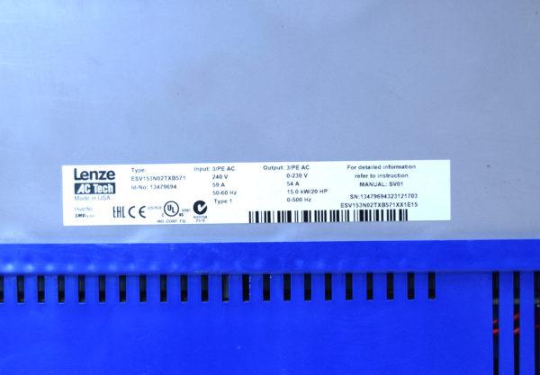 ESV153N02TXB571 Lenze AC Tech Drive