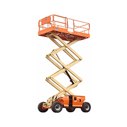 JLG-3394RT 33 ft scissor lift