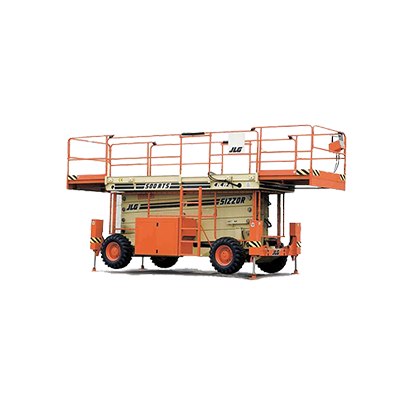 JLG 500RTS 50 foot scissor lift