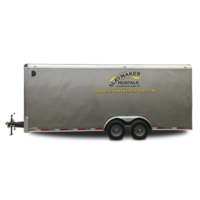 8x20 Enclosed Trailer
