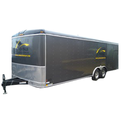 8x24 Enclosed Trailer