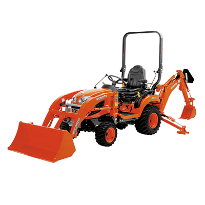 Kubota BX25D Loader Tractor wit Backhoe