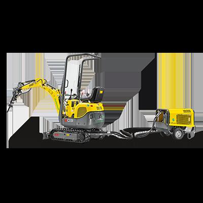 Wacker Neuson 803 Dual Power Excavator
