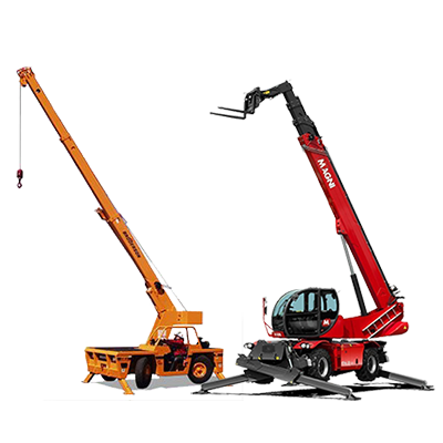 Rotating Telehandlers and Cranes