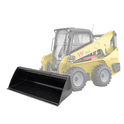 Skid Steer Bucket High Volume