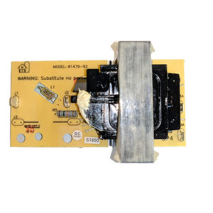02412-92, Zareba ASM Transformer 6J Board 01479-92