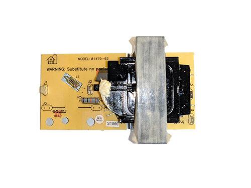 02412-92, Zareba ASM Transformer 6J Board 01479-92